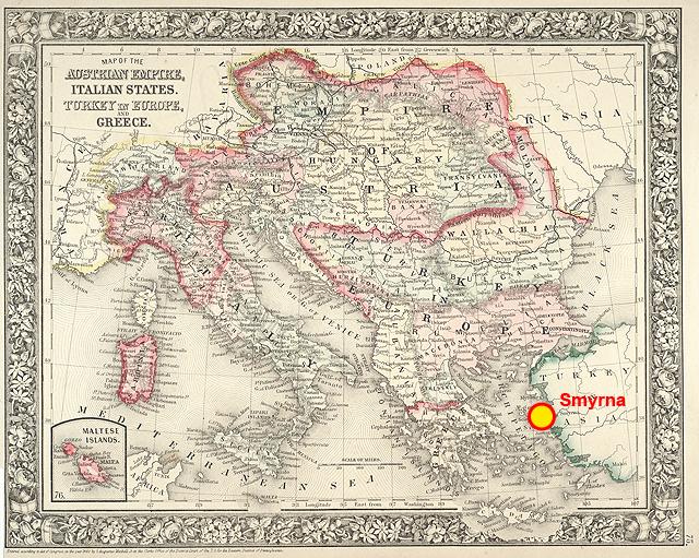 Travels With Henry June 13 1841 Smyrna