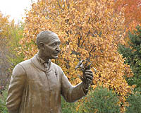 Carver statue