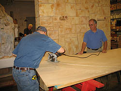 Sawing walls