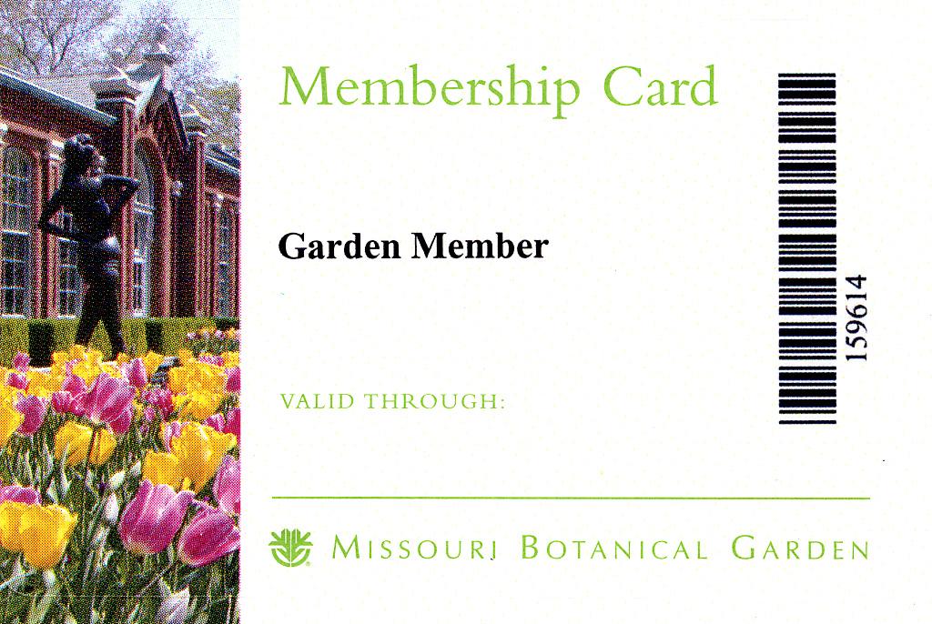 Botanic Garden Membership Botanical Gardens Membership