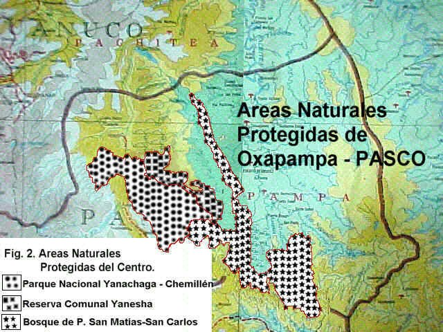 Oxapampa Peru Map.Mbg Research A Botanical Survey Of The Cordilleras De Yanachaga