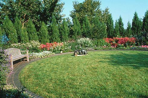 Jane and Whitney Harris Secret Garden